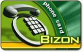 Bizon budget phone cards