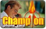 Champion budget phone cards
